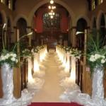 pauline's church decor - nice shot